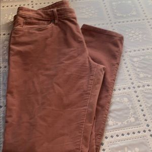 Ann Taylor Relaxed Skinny Corduroy Pants Size 28/6